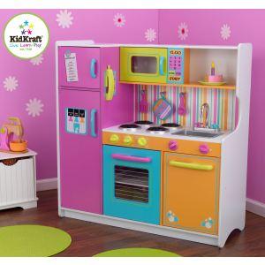 KidKraft 53100 - Grande cuisine de luxe aux couleurs vives