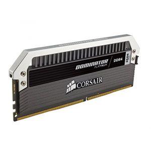 Corsair CMD128GX4M8A2666C15 - Barrettes mémoire Dominator Platinum 128 Go (8x 16 Go) DDR4 2666 MHz CL15 DIMM