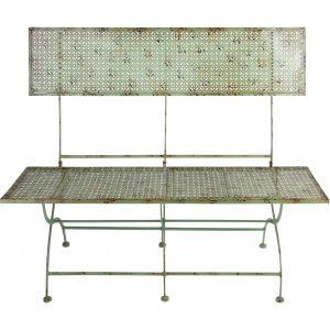 Esschert design IH011 - Banc de jardin en métal Industrial Heritage