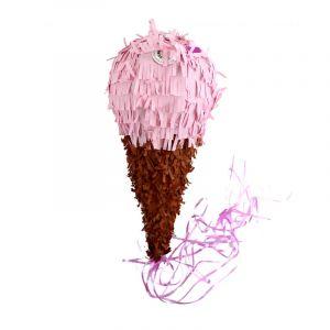 Party Pro Piñata glace à la fraise 45 x 19 cm Taille unique