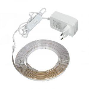 Philips Bandeau LED LightStrips blanc 5 m - Kit complet