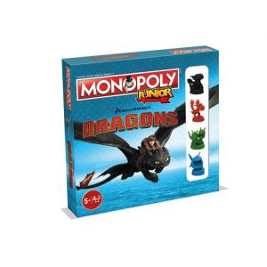 Winning Moves Monopoly junior Dragons