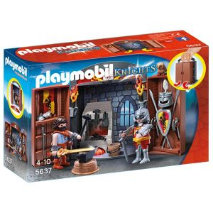 Playmobil 5637 - Knights : la forge des chevaliers