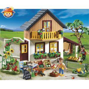 Playmobil 5120 - Maison des fermiers et marché