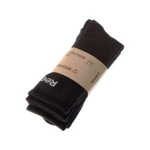 Reebok Chaussettes de sports Sport Chaussettes Niveau mollet - Handball - Essentials training crew Noir - Taille 41 / 46