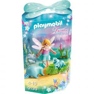 Playmobil 9139 Fairies - Fée avec ratons laveurs