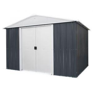 Yardmaster Abri de jardin en métal 12 m² - Gris anthracite