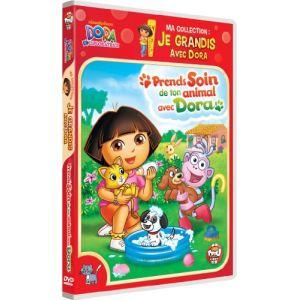Ma collection : Je grandis avec Dora - Prends soin de ton animal avec Dora
