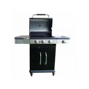 Garden Max FIDGI 3 - Barbecue gaz 3 brûleurs + 1 latéral