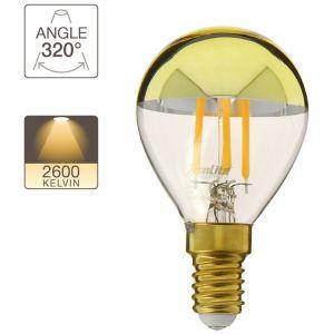 Xanlite Ampoule LED A60 - culot E14 - vintage cover gold
