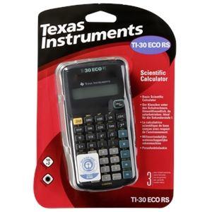 Texas instruments TI-30 eco RS - Calculatrice scientifique écologique