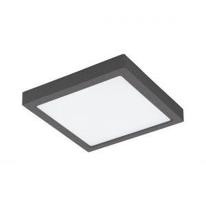 Eglo Applique/plafonnier LED d'extérieur Agrolis-C 22 W Carré Noir