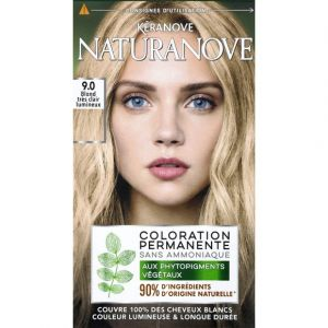 Kéranove Coloration 9,0 blond très clair lumineux - Naturanove