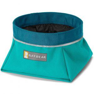 Ruffwear Gamelle de voyage pour chien Quencher Melt Water Teal Taille : L