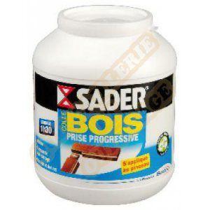 Sader Colle à bois prise progressive flacon 650 g