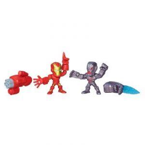 Hasbro Iron Man vs Ultron Super Hero Mashers Micro