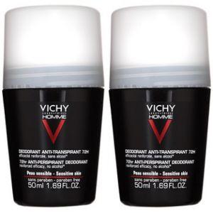 Vichy Homme - Déodorant anti-transpirant contrôle extrême 72h