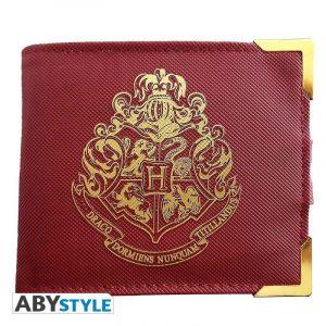 Abysse Corp Portefeuille Harry Potter Doré - Poudlard
