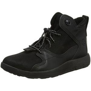 Timberland Flyroam Leather Hiker, Bottes Chukka Mixte Enfant, Noir (Jet Black TBL Forty Blackout), 35 EU