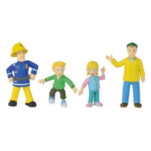 Simba Toys 109251064 Sam Pompier 4 Figurines Série 1
