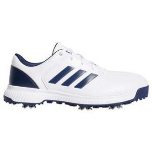 Adidas Chaussures de golf CP Traxion Blanc/Bleu - Taille 45 y 1/3