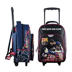 Sac à dos à roulettes FC Barcelone 44 cm