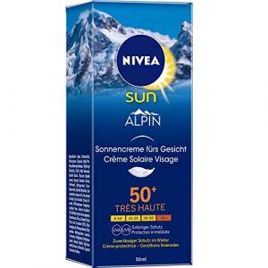 Nivea Sun Alpin Crème solaire visage 50+