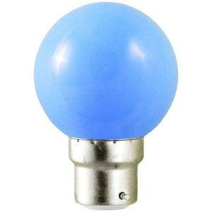 Vision-El Ampoule Led Bleu 1W (9W) B22 -