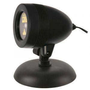AC-Déco Accueil - Projecteur extérieur laser - Déco Noël - Télécommandé 25 cm Doré