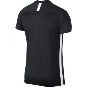 Nike M NK Dry Acdmy Top SS T- T-Shirt Homme, Noir (Black (White) 010), FR : L (Taille Fabricant : L)