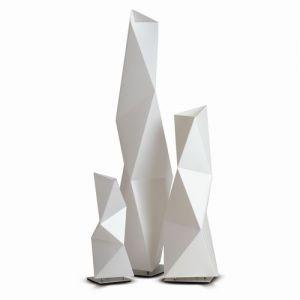 Slamp Lampadaire design Diamond - Blanc - Taille 2 - Intérieur