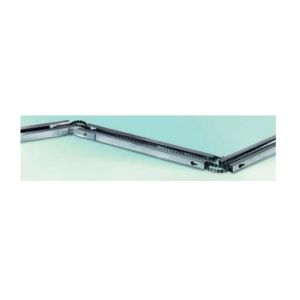Berner Rail court, courroie souple dentée pour moteur course 2350mm en 3 parties - S2M3