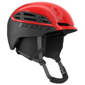 Scott Casques Couloir Mountain - Rouge Red / Iron Grey - Taille M