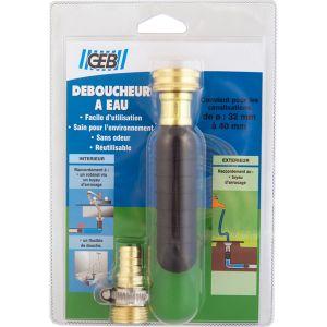 Geb Déboucheur à eau sous pression canalisation Ø 32-40 mm : 875100