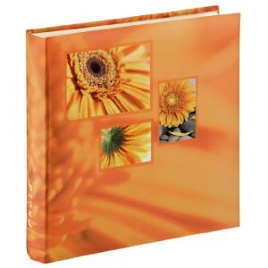 "Hama Album photo Jumbo ""Singo"", 30x30 cm, 100 pages blanches, orange"
