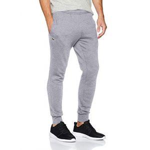 Lacoste XH9507 Pantalon de Sport, Gris (Argent Chiné CCA), L Homme