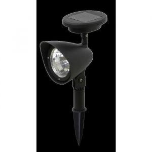 Galix Spot solaire en plastique 3 LED - Dimensions : H27/19,5xL8,7xP14,5cm