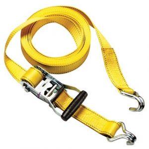 Master Lock Sangle à cliquet - 2 Crochets J mixte adulte - Jaune - 450 cm
