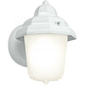 Eglo Applique luminaire mural blanc éclairage extérieur lanterne E27 spot jardin terrasse 30437