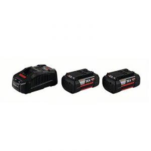 Bosch 1600A004ZX - Twin Pack 2 batteries GBA 36 V 4,0 Ah H-C + chargeur GAL 3680 CV