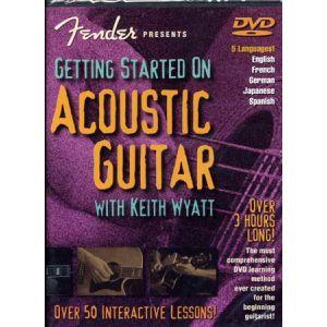 Hal Leonard Wyatt Keith - Fender Getting Started On Acoustic Guitar
