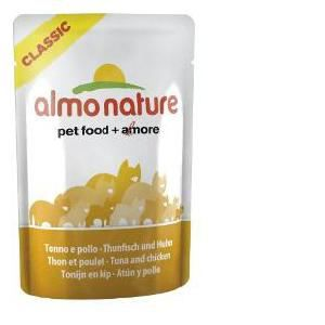 Almo Nature Classic Nature Thon Poulet 55g