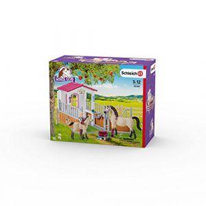 Schleich 42369 Box avec Chevaux