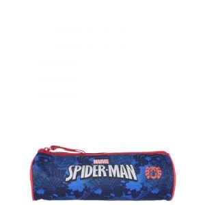 Trousse scolaire Spiderman Power Bleu mJf3uKXJr