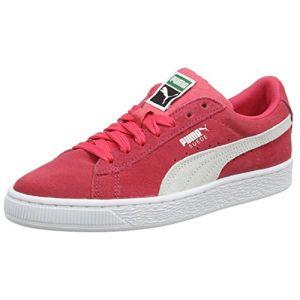 Puma Suede Classic Jr, Sneakers Basses Mixte Enfant, Rose (Paradise Pink White), 36 EU