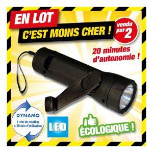 Outiror Offre en lot: lot de 2 LAMPES TORCHE LED