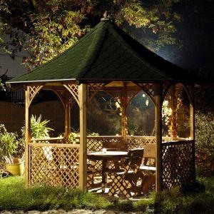 Foresta KI C35 - Pavillon de jardin octogonal Chopin en pin 9,60 m2
