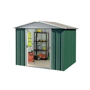 Yardmaster 68GEYZ - Abri de jardin en métal 4,20 m2