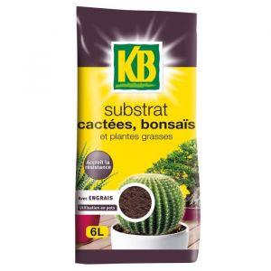 KB Terreau cactées - Bonsaïs et plantes grasses - 6 L