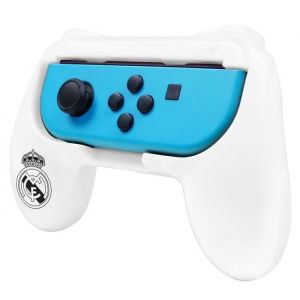 Subsonic Pack de 2 Grips support manette pour Joycon Nintendo Switch - Real Madrid